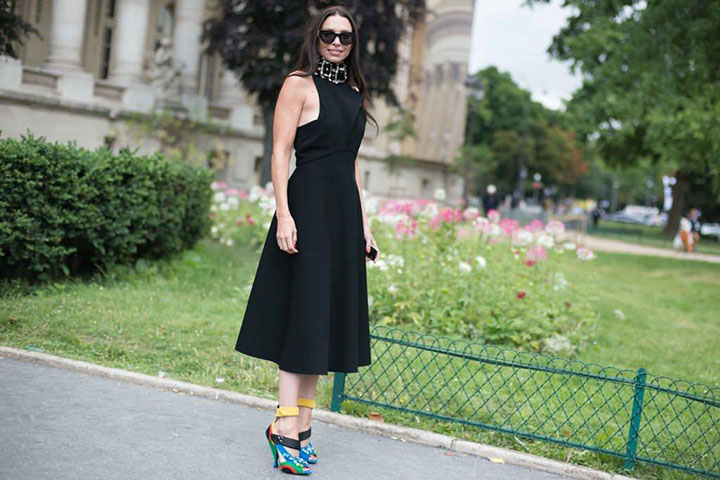 Paris Haute Couture Little Black Dress