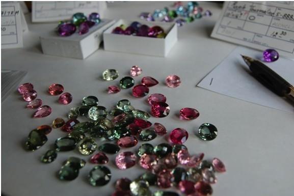Torii Necklace Stones