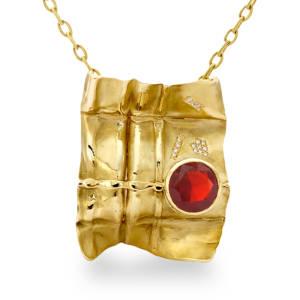diana-widman-15-pendant-18kt-yellow-gold-fire-opal-diamond