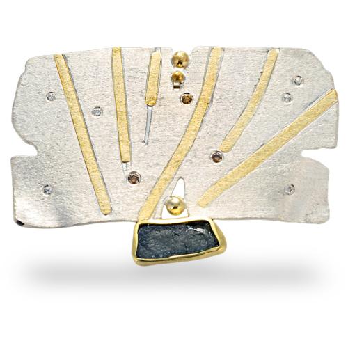 diana-widman-57-brooch-argentium-silver-and-18kt-gold-sapphire-diamonds