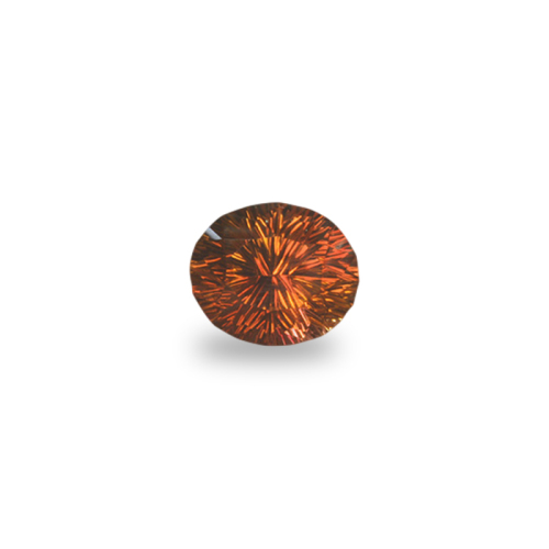 Oval 'Concave Brilliant' Salmon Tourmaline