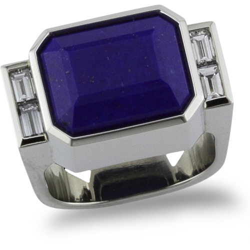 Deco Blue Ring