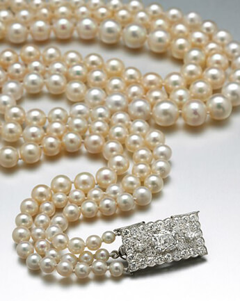 Cartier Pearl Necklace