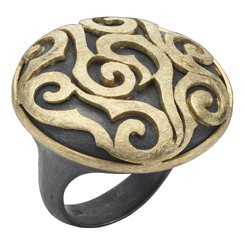 Gold Ring, 'Edge Collection'