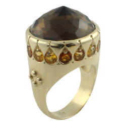 ana-cavalheiro-2-ring-14k-yellow-gold-smokey-quartz-madeira-citrine-citrine
