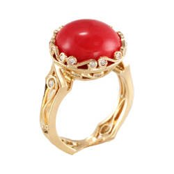 cathy-carmendy-8-ring-18-kt-gold-diamonds-italian-coral