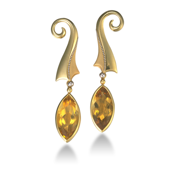 mirjam-butz-brown-10-earrings-18kt-white-gold-platinum-granulation-citrine
