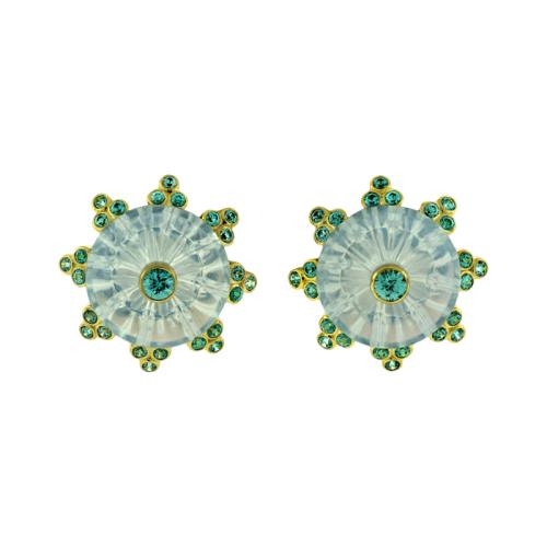 Mesmerizing Torus Ring Earrings