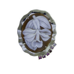 rainforest-designs-39-brooch-sardonyx-shell-cameo-18kt-white-gold-pink-sapphires