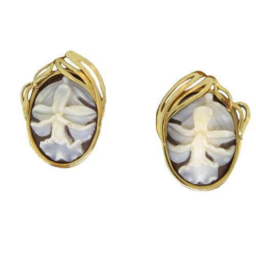 Sobralia Decora Orchid Earrings