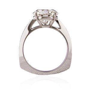 Cynthia Renee Inc, Platinum & Diamond Engagement Ring