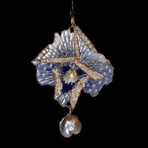 Art Nouveau Jewelry Pendant