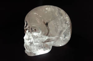 Carnegie crystal skull side