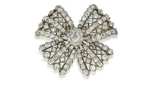 Bonhams Auction Diamond Leinster Brooch