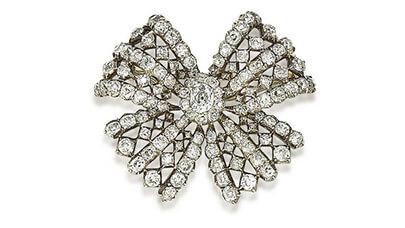 Bonhams Auction Diamond Leinster Brooch
