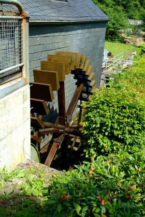 """The """"Historische Weiherschleife"""" Mill"""