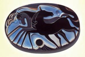 Idar Oberstein Running Horses