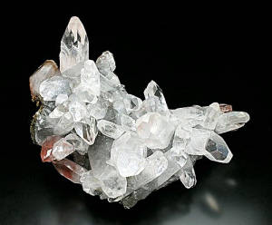 Mineral Collection Calcite on Hematite