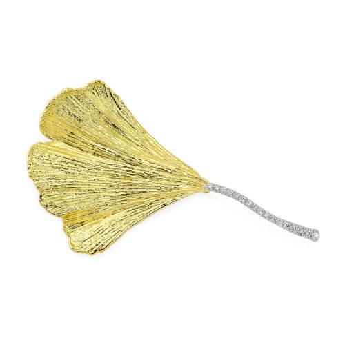 Ginkgo Leaf Pin