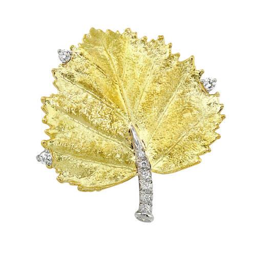 Gold Leaf  Pin