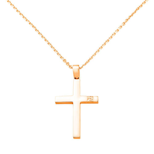 God Bless Pendant Cross