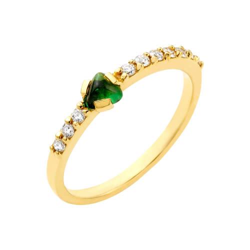 Rare Change Ring with Tourmaline