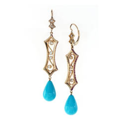 cathy-carmendy-11-earrings-18-kt-gold-amethyst-turquoise