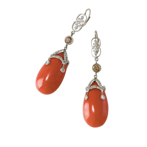 cathy-carmendy-27-earrings-platinum-mediterranean-coral-brown-diamonds