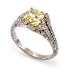 cathy-carmendy-3-ring-platinum-yellow-diamond