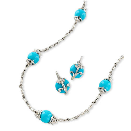 Amulet Necklace with Turquoise
