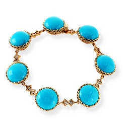 cathy-carmendy-50-bracelet-diamonds-gvs2-14mm-turquoise
