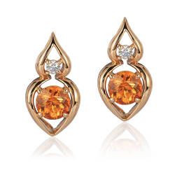 cynthia-renee-inc-20-earrings-18k-rose-gold-spessartite-diamond