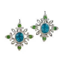 cynthia-renee-inc-57-earrings-white-gold-zircon-tsavorite-diamonds