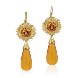 cynthia-renee-inc-6-earrings-14-kt-yellow-gold-citrine-amber