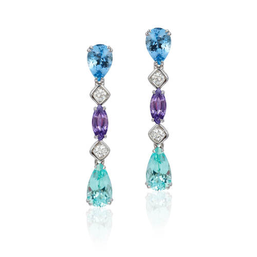 Boutique 'Gem Garland' Earrings