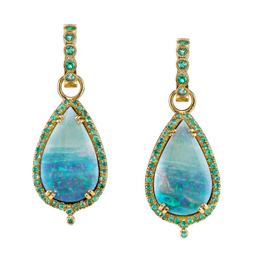 Opal & Paraiba Earrings