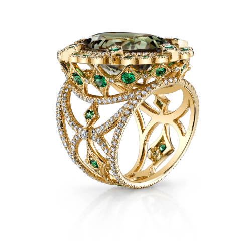 erica-courtney-5-ring-18kt-yellow-gold-csarite-tsavorite-granet-diamond