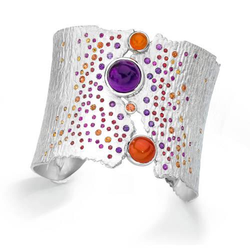 ljd-designs-2-bracelet-sterling-silver-sapphires-amethyst-carnelian