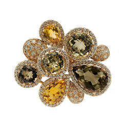 mara-kartali-1-ring-18-kt-gold-diamonds-yellow-citrines-green-amethyst-fume-quartz