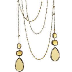 mara-kartali-13-necklace-18-kt-pink-gold-honey-citrine-quartz-yellow-saphires