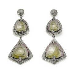 mara-kartali-22-earrings-925-silver-black-rhodium-plated-diamonds-tourmaline