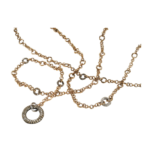Pink Gold Multipurpose Long Chain