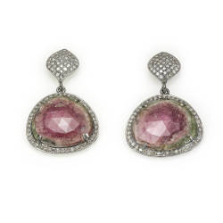 mara-kartali-8-earrings-sterling-silver-925-black-rhodium-plated-pink-tourmaline-diamonds