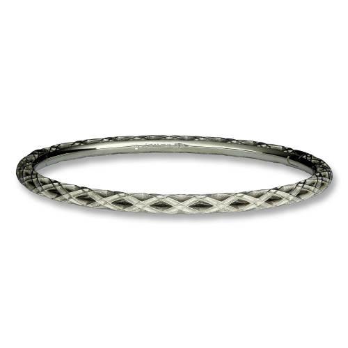 Prism Woven White Gold Bracelet