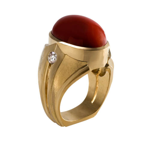 rika-jewelry-designs-18-ring-18kt-yellow-gold-coral-diamonds