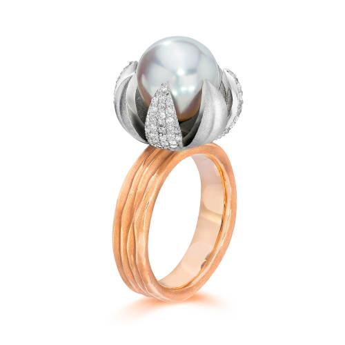 Lotus Blossom Ring