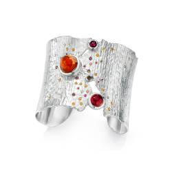 ljd-designs-81-S-144-cuff-sterling-silver-opal-sunstone-garnet-sapphire
