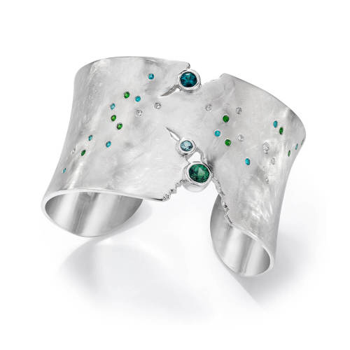 Night Sky Cuff, Aurora Borealis