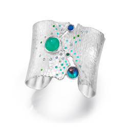 ljd-designs-83-S-145-cuff-sterling-silver-opal-tourmaline-diamonds