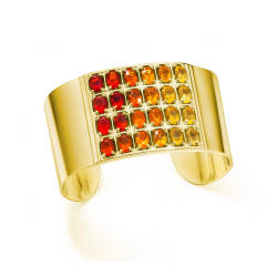 ljd-designs-84-G-103-cuff-18-kt-yellow-gold-opals